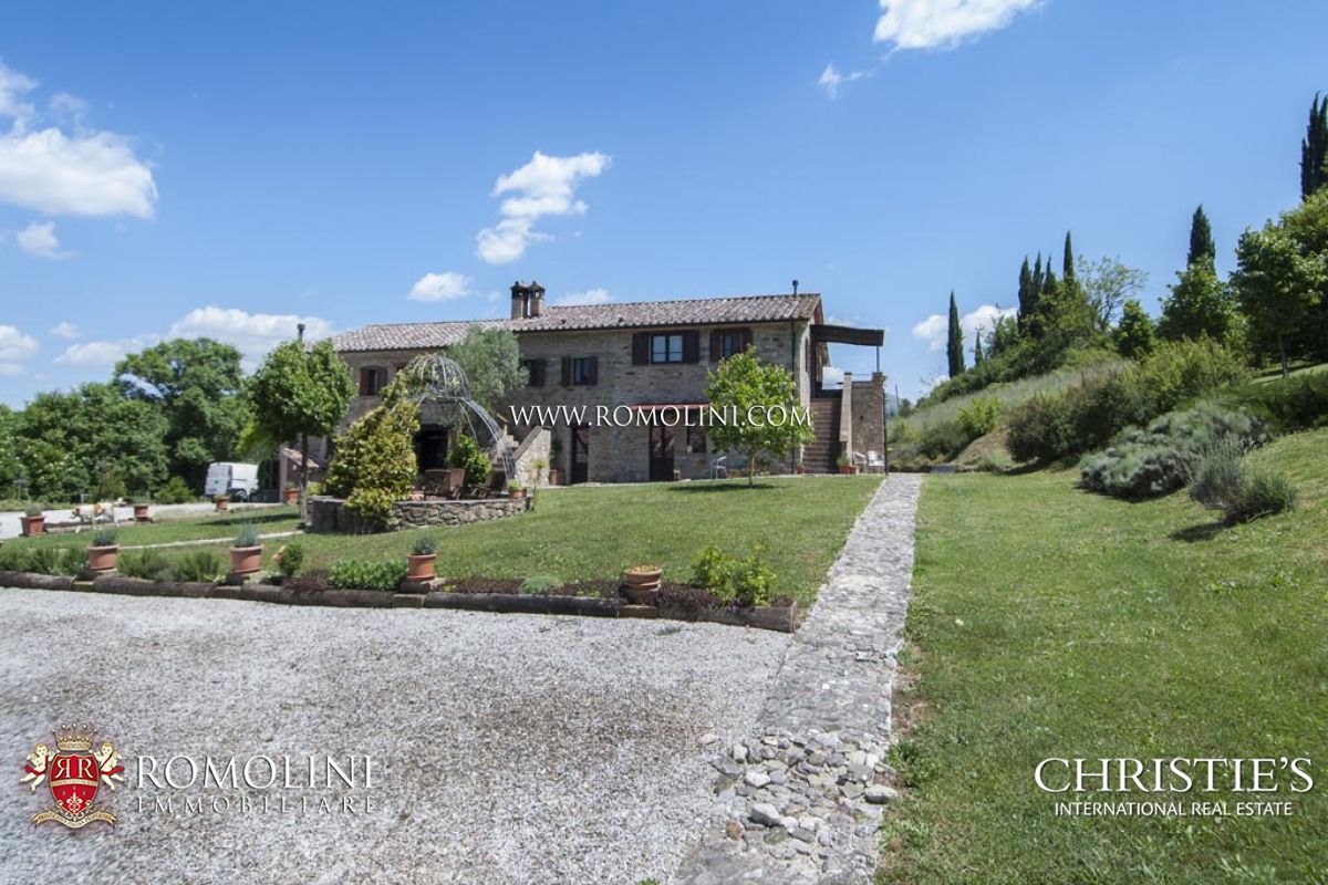AGRITURISMO FOR SALE IN UMBERTIDE UMBRIA