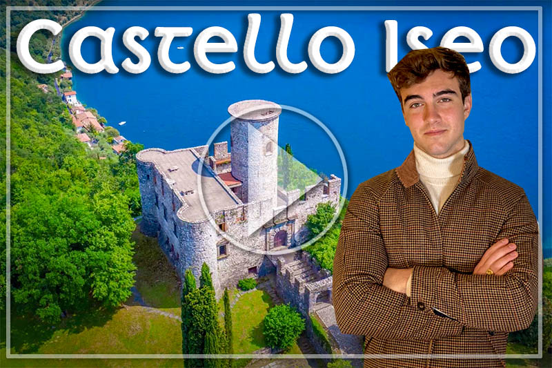 LET'S FOLLOW DANILO ON LAKE ISEO TO DISCOVER THIS UNIQUE CASTLE LOCATED ON THE HIGHEST POINT OF MONTE ISOLA