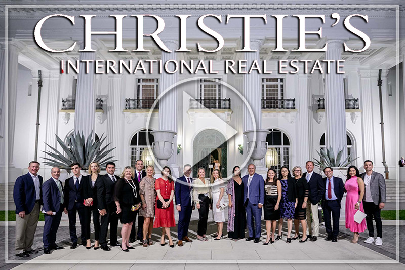 CHRISTIE'S INTERNATIONAL REAL ESTATE OWNERS CONFERENCE, PALM BEACH 2020