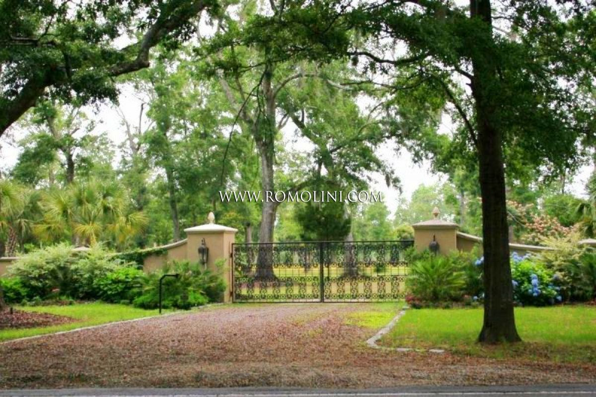 Charleston waterfront equestrian estate