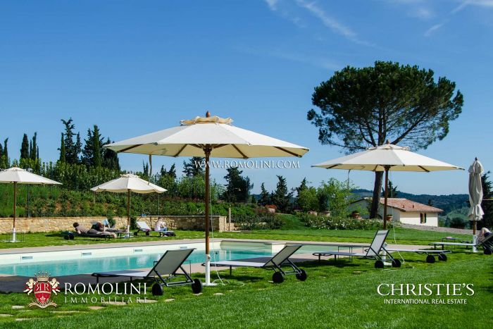 RUSTIC COUNTRY HOUSE FOR SALE FLORENCE CHIANTI CLASSICO
