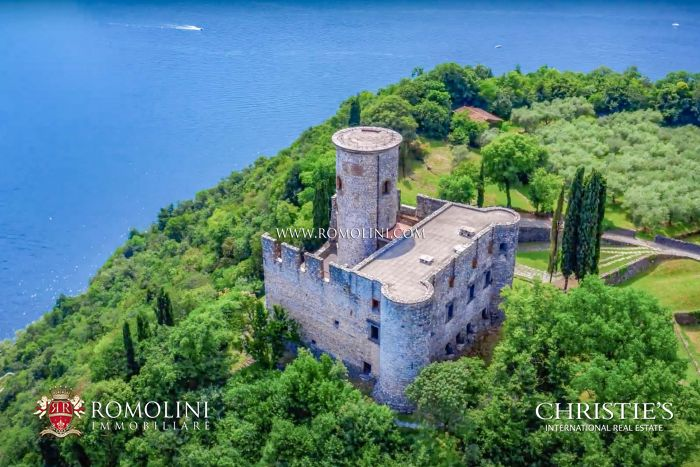 CASTLE FOR SALE ON LAKE ISEO, LOMBARDY