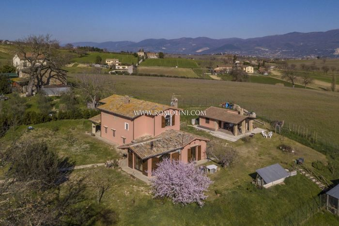 COUNTRY HOUSE FOR SALE IN MONTEFALCO, UMBRIA