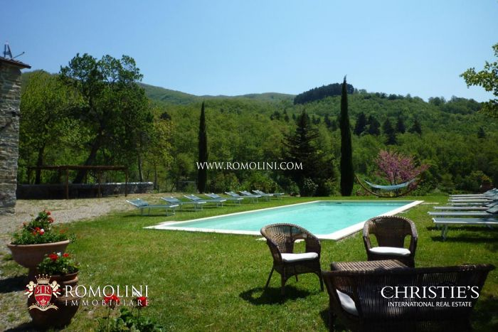 Farmhouse with annexes and pool for sale