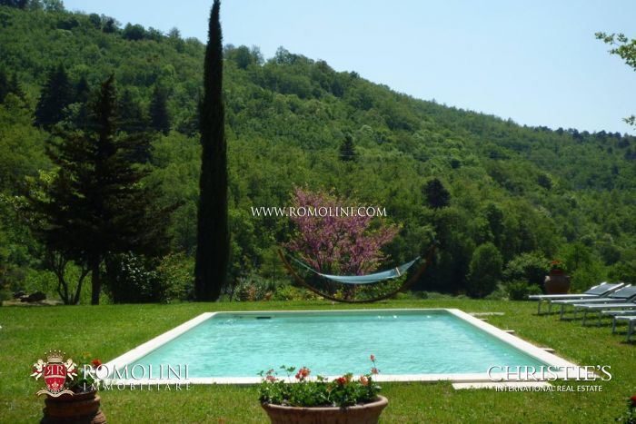 Arezzo Farmhouse with annexes and pool for sale