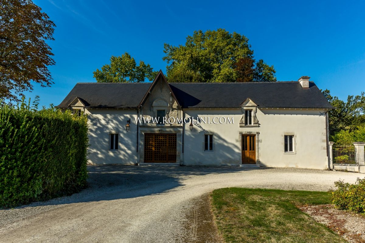 CHATEAU FOR SALE COGNAC FRANCE, CASTLE FOR SALE COGNAC FRANCE