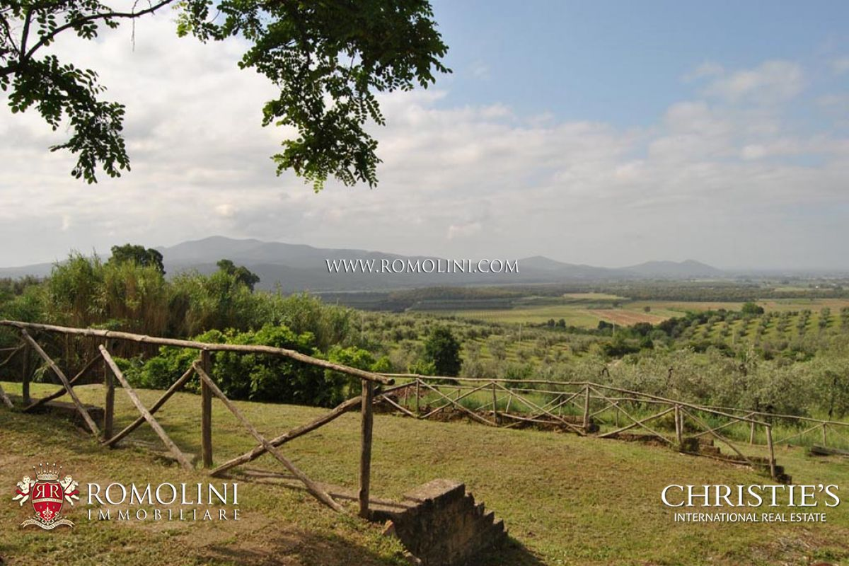 ESTATE WITH COUNTRY HOUSE, OLIVE GROVE AND VINEYARD FOR SALE IN MAREMMA, TUSCANY, ITALY