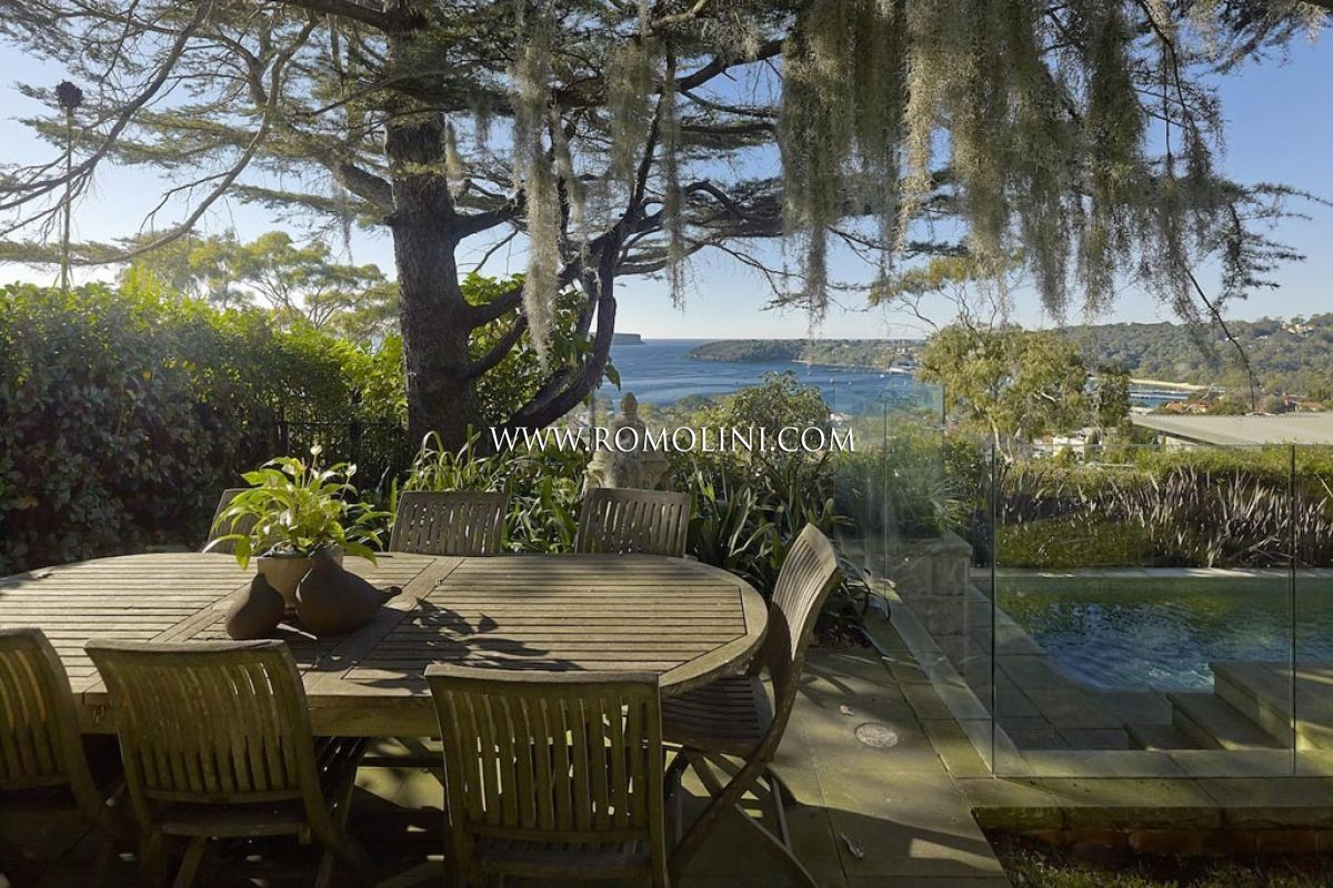 MAJESTIC VILLA WITH SEA VIEW FOR SALE IN MOSMAN, SYDNEY, Australia