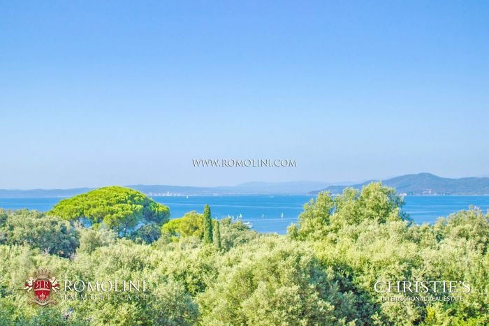 VILLAS FOR SALE IN TUSCANY SEASIDE