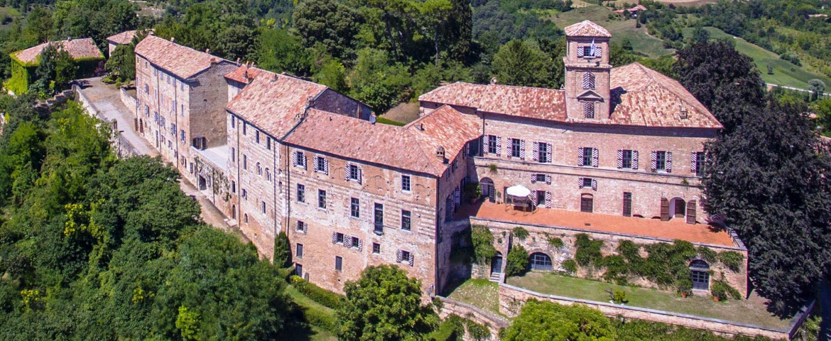One of the many medieval castles dotting Monferrato, legacy of the region's glorious past